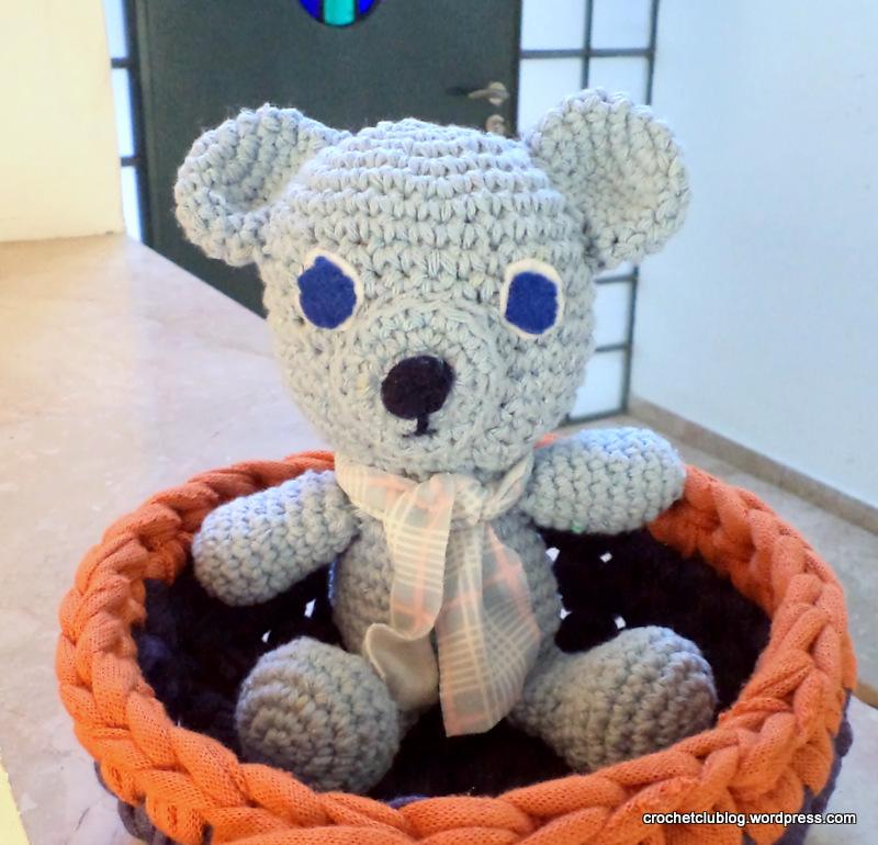 amigurumi bear cotton thread crochet