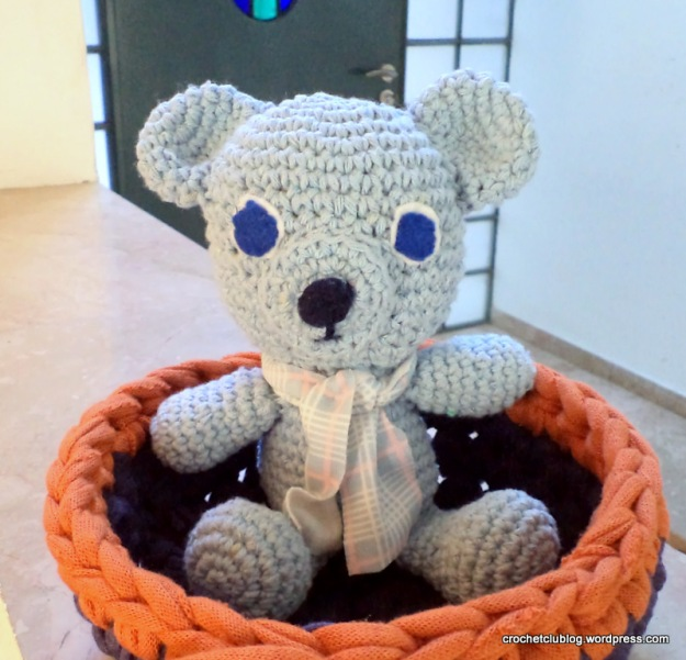amigurumi bear cotton thread crochet